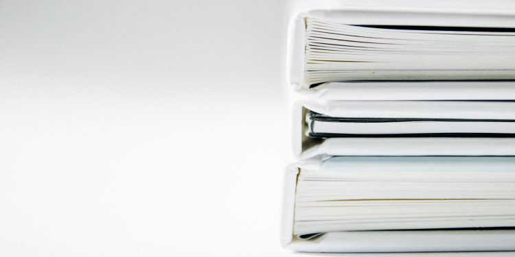 invoices stored in paper format
